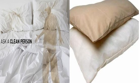 Reasons for the yellowing of your pillow
