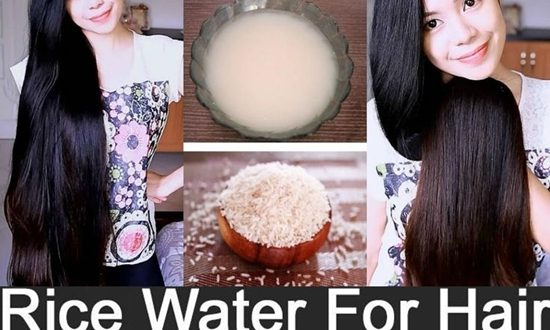 Rice water improves the quality of your hair and gives it a silky texture