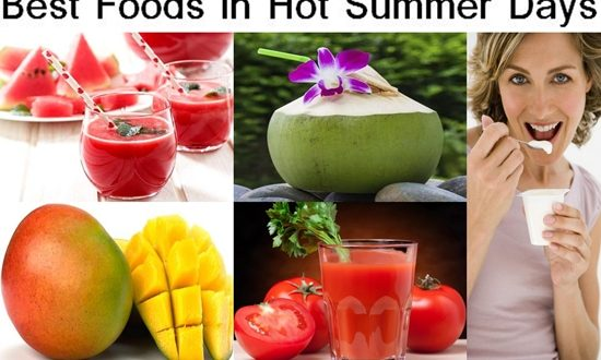 The Best Foods To Eat in The Hot Summer Days