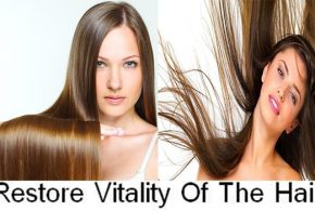 5 Ways to restore vitality of the hair