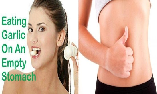 benefits of eating garlic on an empty stomach