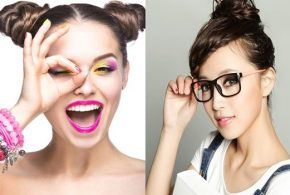 Now with 10 tips: Wearing make up with glasses that turns heads