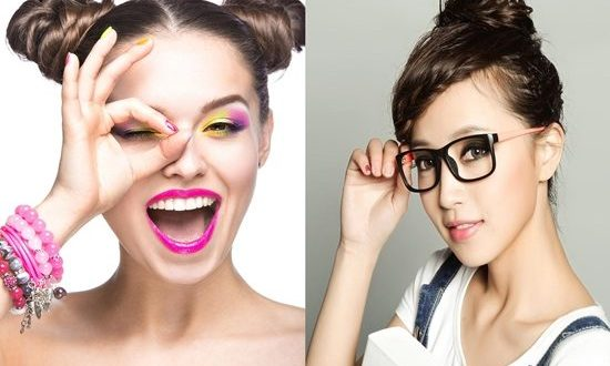 10 tips Wearing make up with glasses