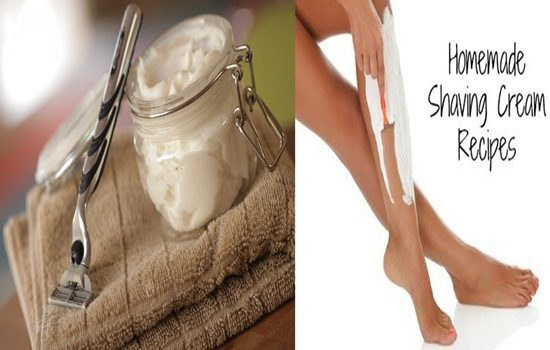 DIY Body Shaving Creams For Women