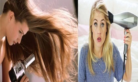 Hair Drying Mistakes