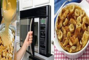 Quick Banana Pudding in the Microwave