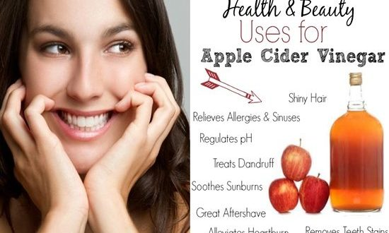 Beauty Uses Of Apple Cider Vinegar