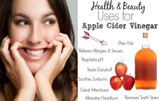 Beauty Uses Of Apple Cider Vinegar