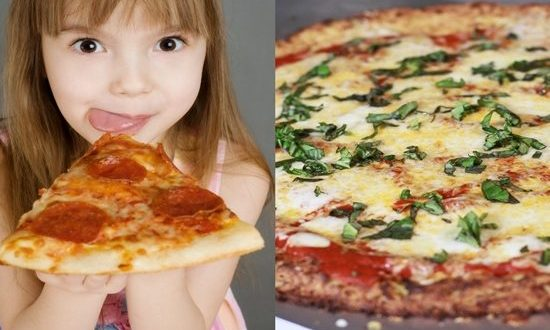 How To Make Children's Favorite Pizza Crust From Cauliflower