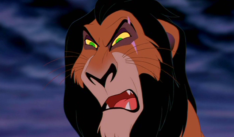 List Of The Most Evil Disney Villains Of All Scar. The Lion King1
