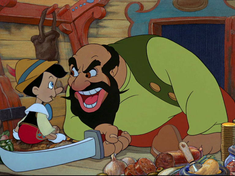 List Of The Most Evil Disney Villains Of All Stromboli, Pinocchio