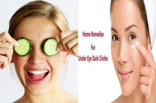 Natural Remedies To Get Rid Of Dark Circles Around The Eyes