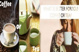 Five Differences between Coffee and Tea