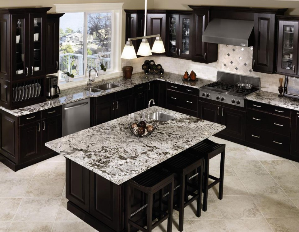 Photo of Contemporary Black Kitchen Cabinets