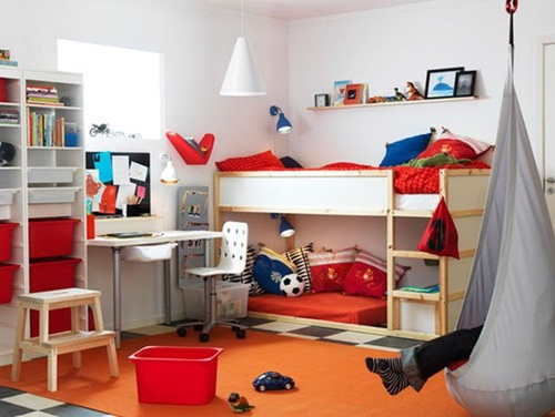 Photo of Amazing Shared Kids' Room Ideas