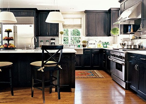 Photo of Modern Black kitchen designs – ceramic – granite