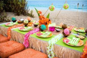 How to Plan a Luau Party - Decoration, Feast and Entertainment