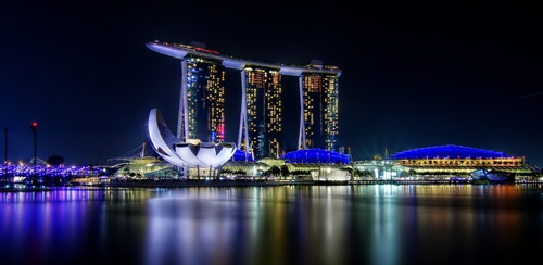 Marina Bay Inviting Places in Singapore