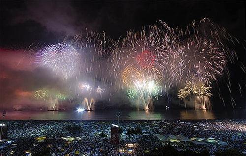 New Year in Brazil