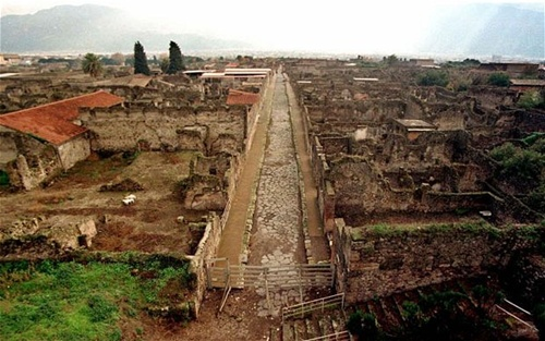 Pompeii  Historical Sites of Italy