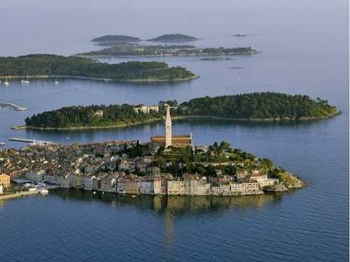 Rovinji Coasts and Islands in Croatia