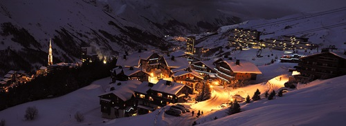 Best Places for Spring Skiing  . Les Menuires, French Alps