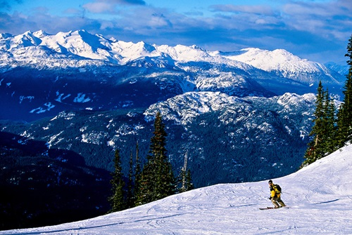 Best Places for Spring Skiing   Whistler Blackcomb, British Columbia