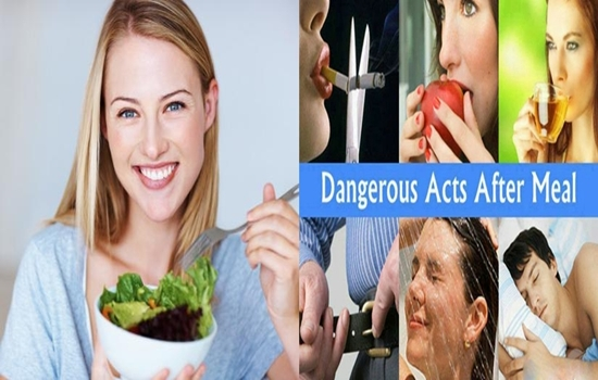 Photo of 7 Habits You Must Avoid Right After Having a Meal!