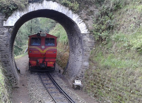 Haunted Places in India  Shimla-Kalka Railway Line