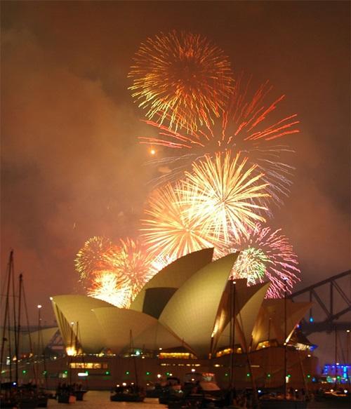 The New Year Festival in Australia