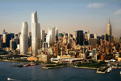 The Skyscrapers of New York City