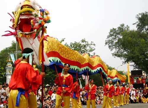 The Tet Festival in Vietnam