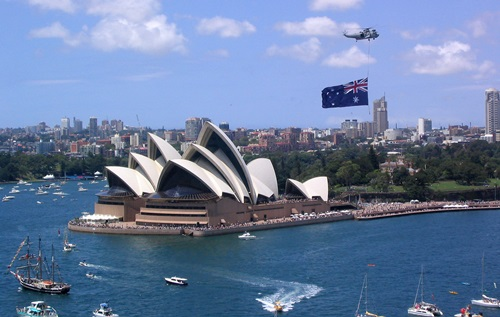 The immigration to Australia