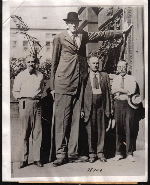 Photo of Top Ten Tallest People That Ever Walked On Earth