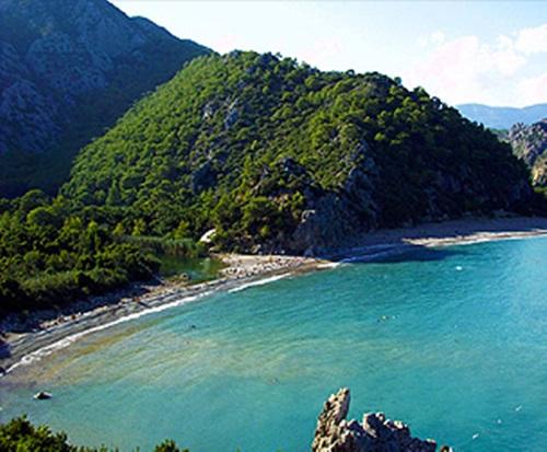 Turkey beaches   Olympos