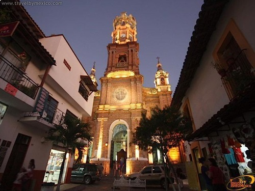 Vacation in Puerto Vallarta  Architecture