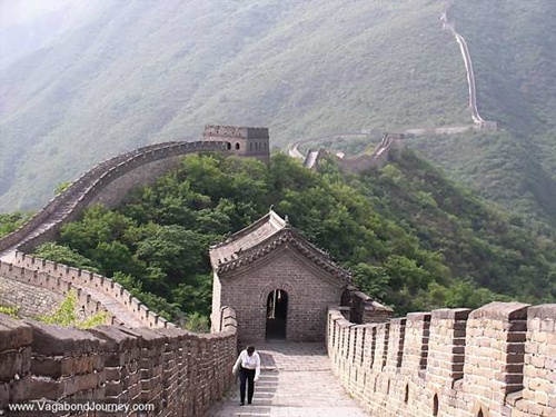 the Great Wall of China  Tourism Attraction