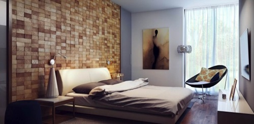 Bedroom Interior Design for a Blind Person