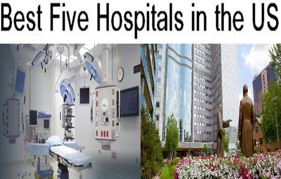 Best Five Hospitals in the US