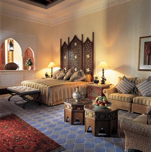 Moroccan Bedroom Interior Design Ideas