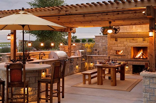 Photo of Secrets to a Wonderful Outdoor Kitchen Design