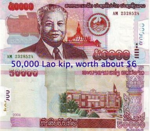 The Advantages and Disadvantages of Laotian Kip