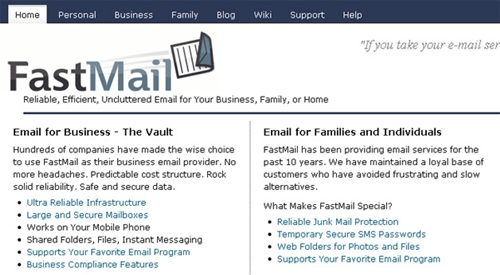 Top Ten Best Free Email Service Providers In The World