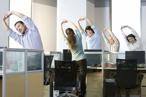 Top Ten Most Effective Non-Caffeinated Ways To Wake Up At work
