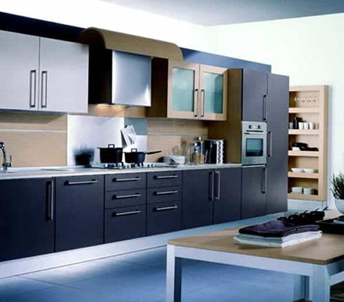 Kitchen Modern Contemporary Interior Design: Wonderful Modern Kitchen Interior Design
