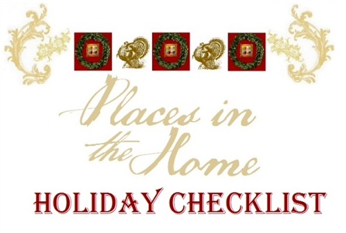 Your Home Checklist for the Holidays