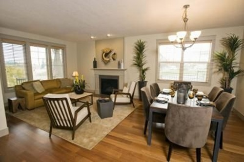 how to decorate a living room dining room combo