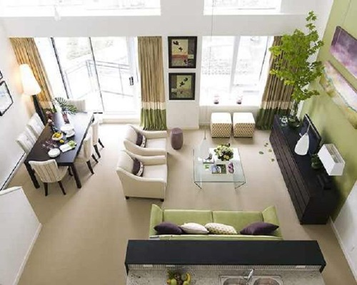 . 4 Tricks to Decorate Your Living Room and Dining Room Combo