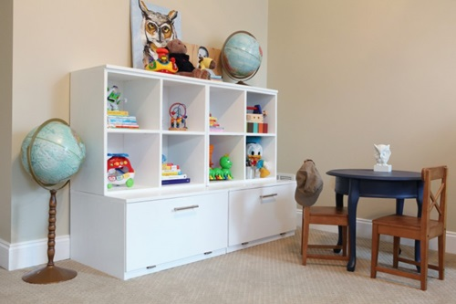Kids Storage Cube Organizer Toy Box Kids Bedroom Furniture: Creative Kids Bedroom Storage Solutions