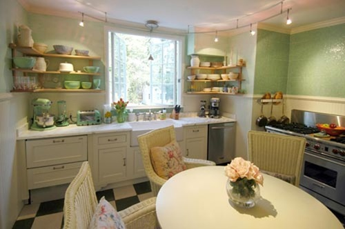 How How To Create a Shabby Chic Kitchen With Simple Ways & spendind the leat cost
